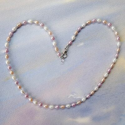 Small Rice Pearls with Sterling Silver Clasp £39