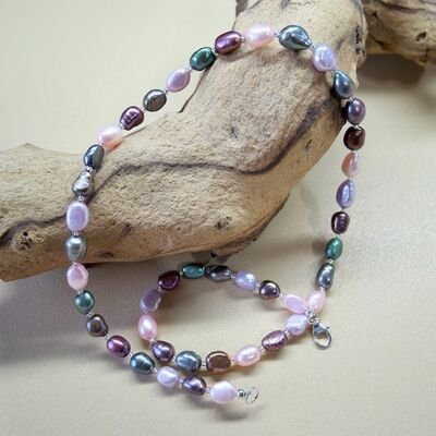 Large Pearl Nuggets with Sterling Silver Clasp £45