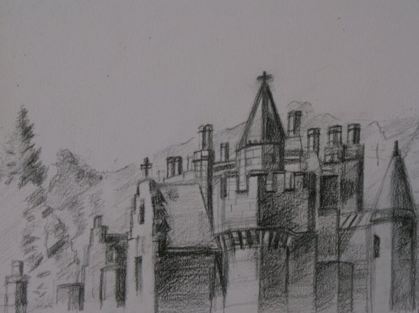 Abbotsford Rooves and Chimneys.