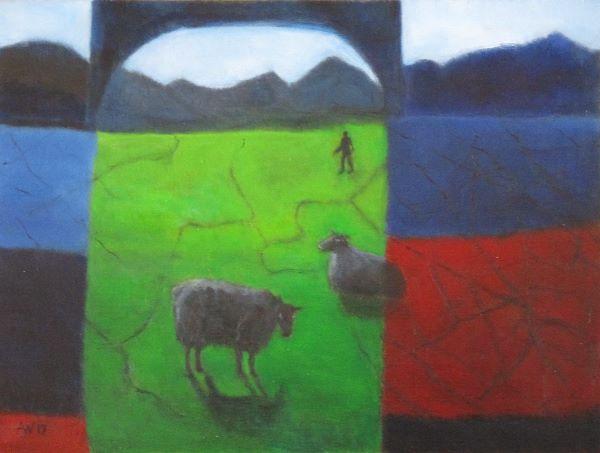 Black Hill Sheep ©