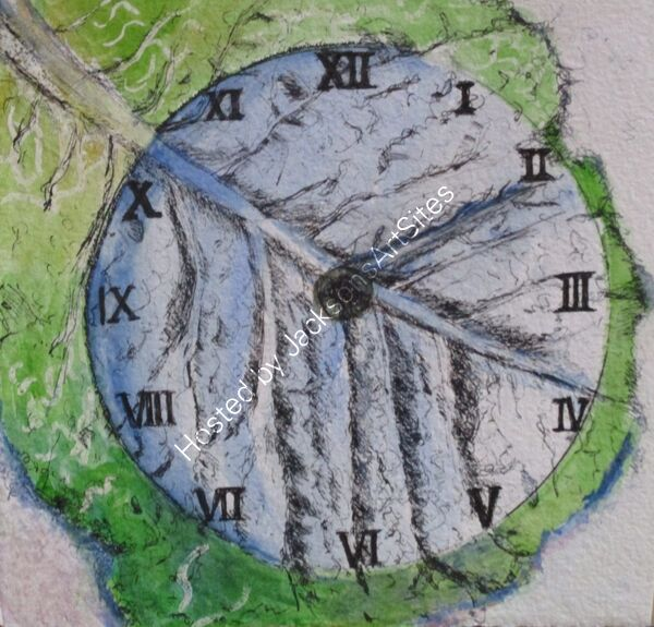 Cabbage Leaf Clock 04-07-2000 ©