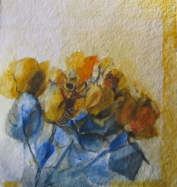 Cluster of Yellow Roses ©