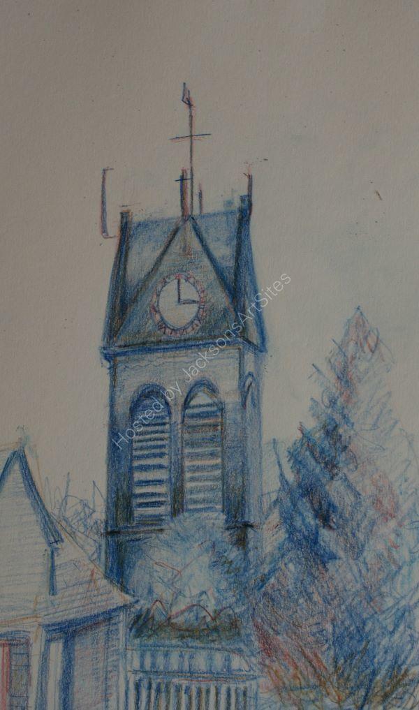 Coldsream Church Clock