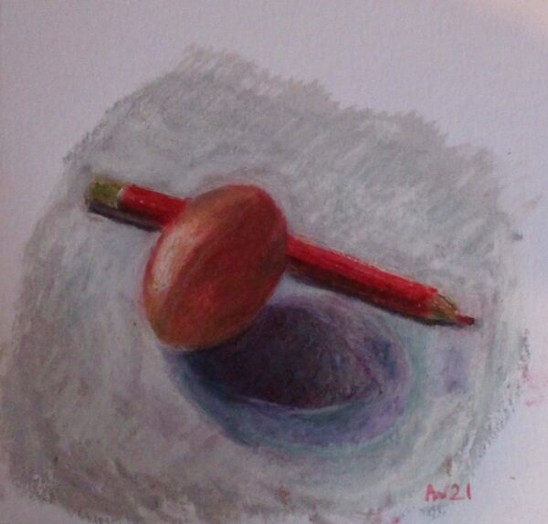Egg and Pencil 2