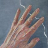 Hand with Wavy Line  ©