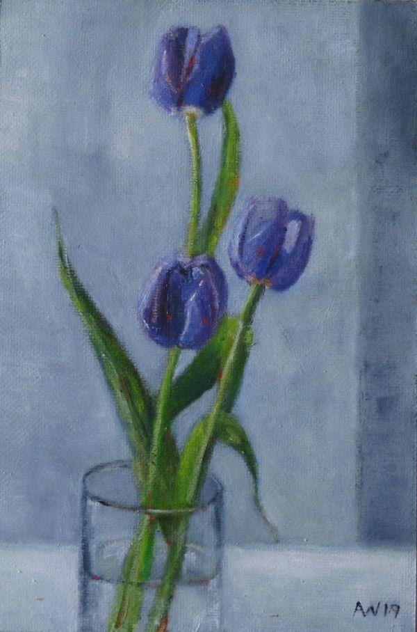 June Purple Tulips ©