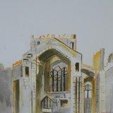 Melrose Abbey.