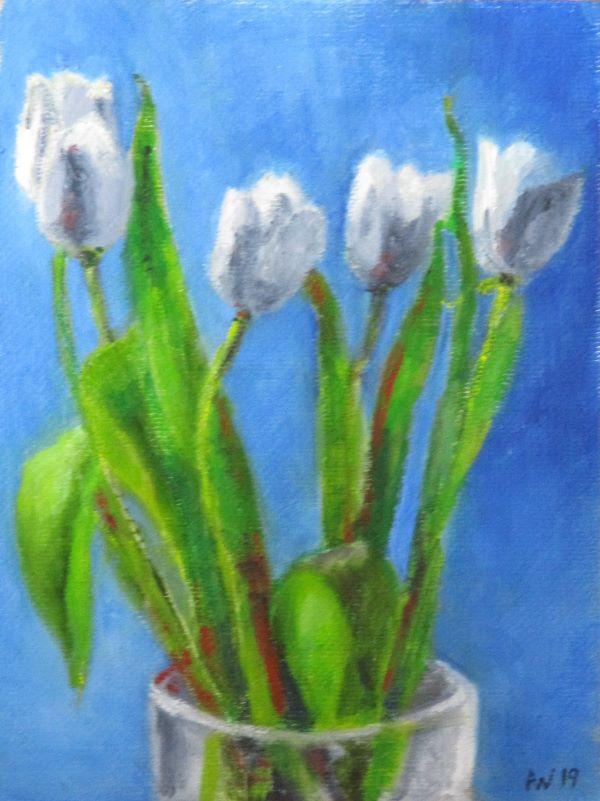 April White Tulips ©