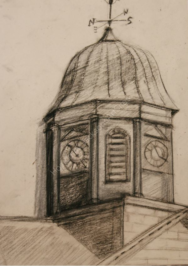 Town Hall Clock Kelso