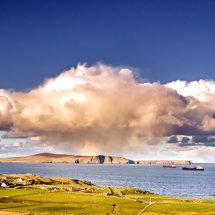 Bressay cloud explosion