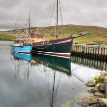 Fishing boats at Voe