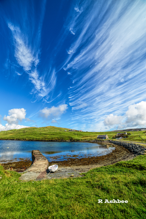Amazing Shetland skies