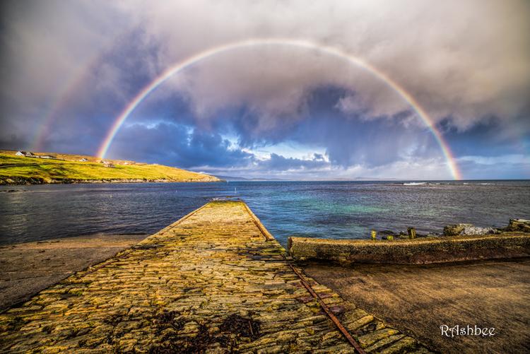 Double rainbow, Sandsayre