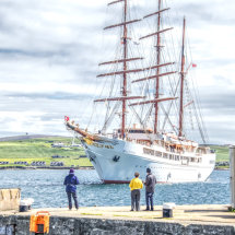 Sea Cloud ll arrives in Lerwick