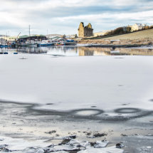 Winter at Scalloway Castle