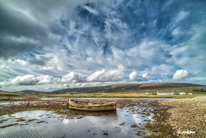 Shetland Boat, North Roe, Shetland