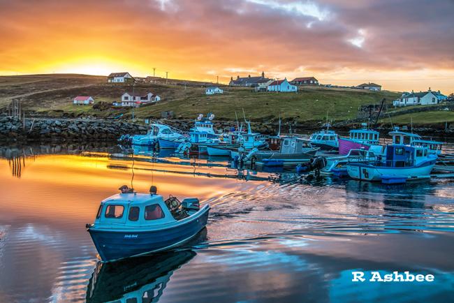 Boats at Burra
