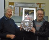 Chairman Ray McKenna & Winner Graeme Pattison