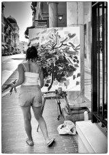 1st Artist at Work - Lynn Kerr