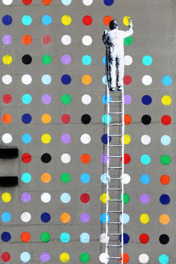 Com Dot to dot graffiti - Ken Bush