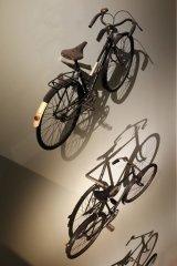 HC Cycling up the wall - Ken Bush