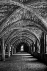 HC The old refectory, Fountains Abbey - Richard Booth