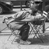Lunch Time Snooze :  Paul Saint
