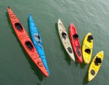 Rainbow canoes