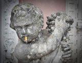 Smoking Statue