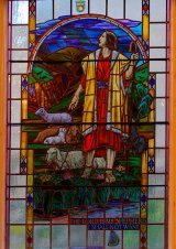 The Lord is my Shepherd Window