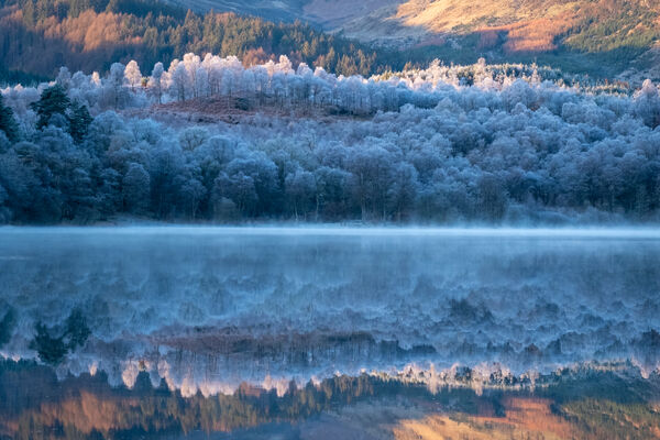 Winter colours, Loch Achray