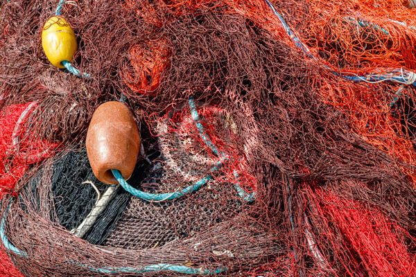 18 FISHING NETS by Peter Rees
