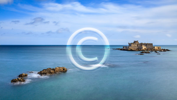 18 FORT NATIONAL, ST. MALO by Peter Rees