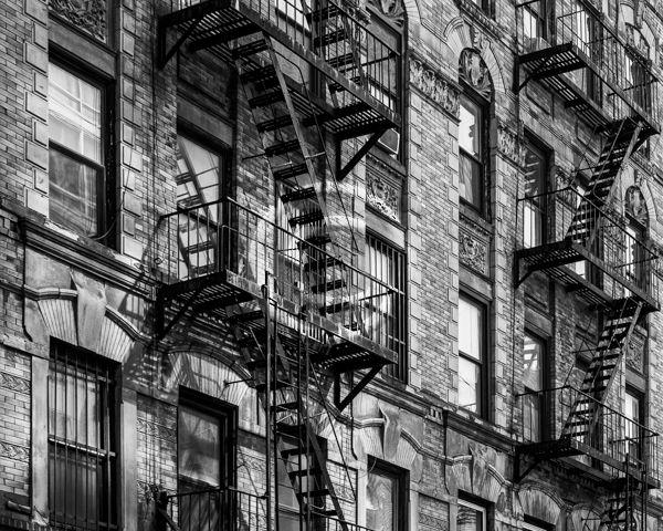 19 MANHATTAN WALK-UPS by Peter Rees