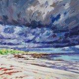 Balephetrish Bay, 75x75cm, oil on canvas, £1495