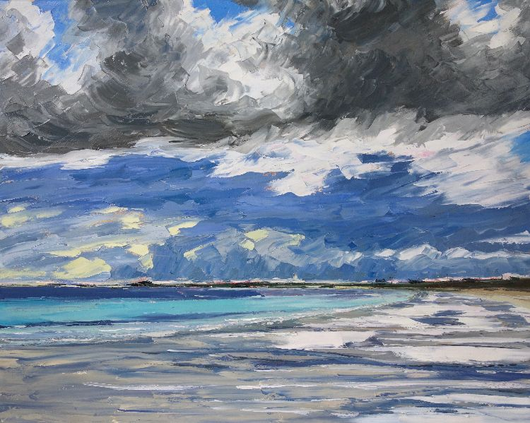 Clouds Sweeping over Balephetrish, 80x100cm, £1795