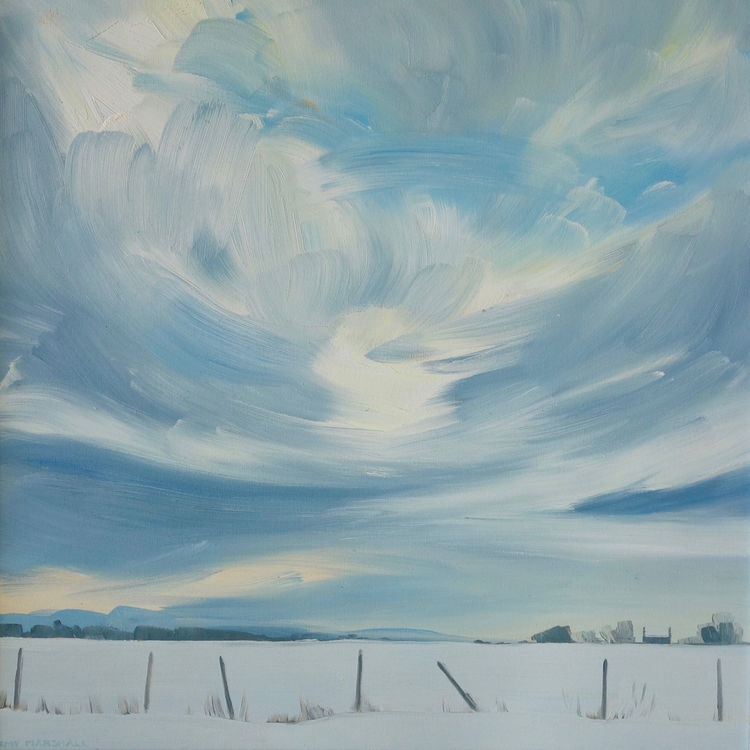 First Snow of the year, 40x40cm, ££550