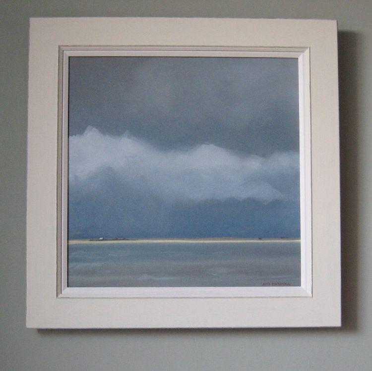 'Obec' frame with slip, cream