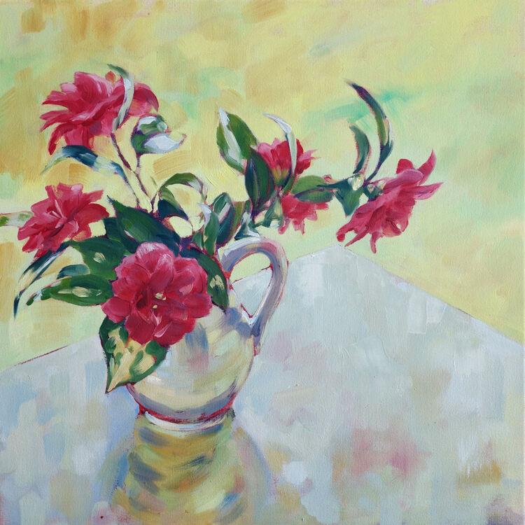 Spring Light, 50x50cm, oil on canvas, (unframed) £720
