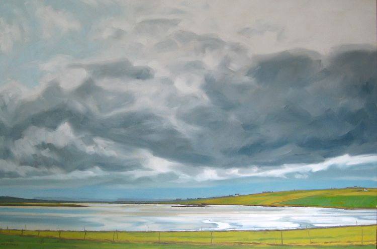 The Ouse, Westray, 80x120cm, oil on canvas, £1750