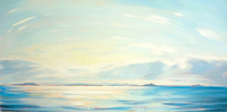 The Treshnish Isles, 50x100cm, oil on canvas, £1250