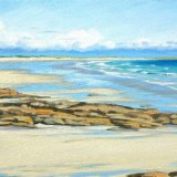 White Sands at Crossapol, 40x60cm, oil on canvas, £650