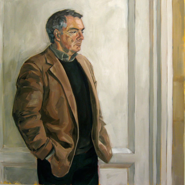 Portrait of Alan (2009, oil on canvas, 100 x 100cm)