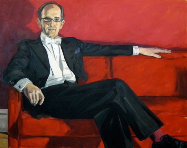 Portrait of Dominic (2008, oil on canvas, 100 x 120cm)