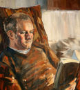 Portrait of Kenneth (2008, oil on canvas, 60 x 78cm)
