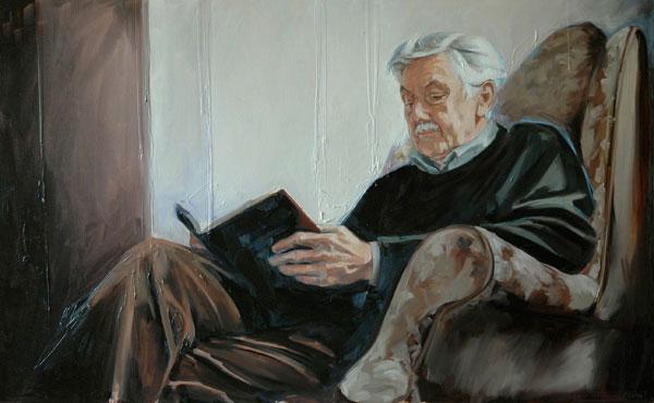 Portrait of Robert (2006, oil on canvas, 65 x 110cm)