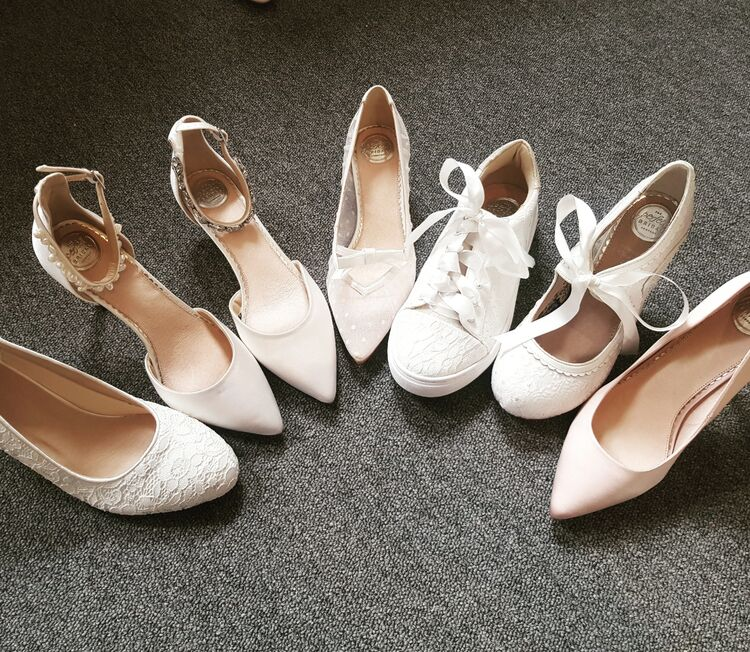 Perfect bridal shoe collection