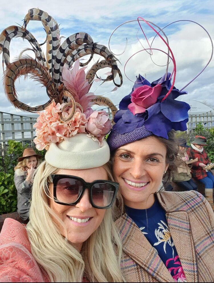 Bespoke hats to match