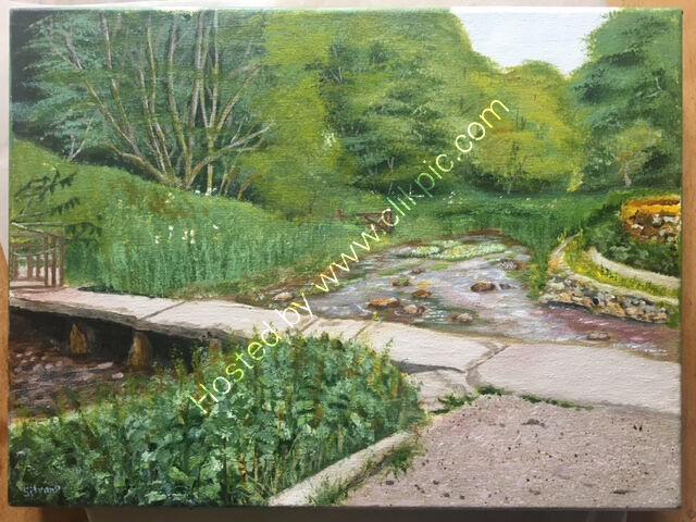 Acrylic commission