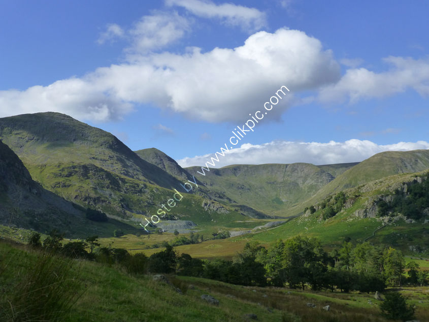 Landscape Commission for a special birthday of Kentmere valley. Original Photograph